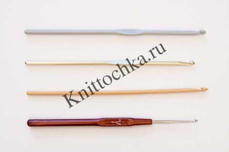 выбор крючка для вязания