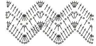 схемы афганского вязания крючком