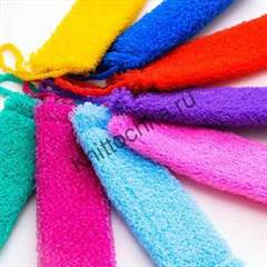 схемы вязания мочалок крючком