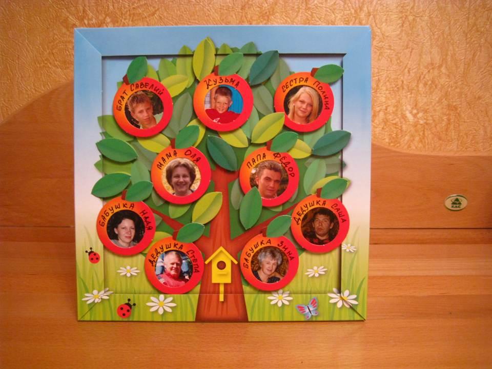 Дерево из картона своими руками шаблоны фото 643