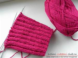 шарф манишка спицами с описанием и схемами для детей