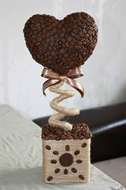Топиарий из кофе своими руками видео фото 609
