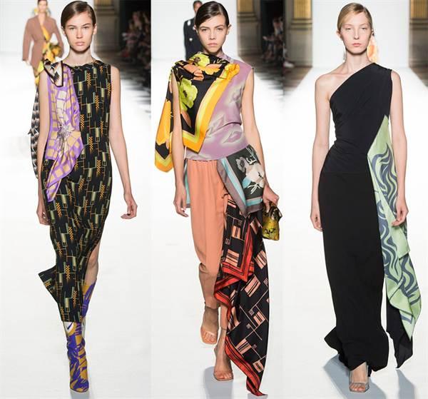 af77cec9c4d Именно в это время советские женщины начали придумывать платья из платков своими  руками.