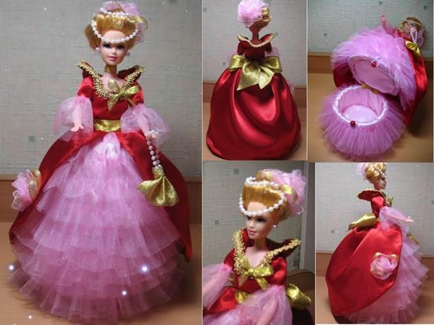Кукла шкатулка своими руками мастер класс пошагово фото 358