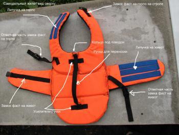 Спасательный жилет своими руками: как сделать жилет для рыбалки из джинсов по выкройке{q} Чем заполнить самодельный жилет из штанов{q}