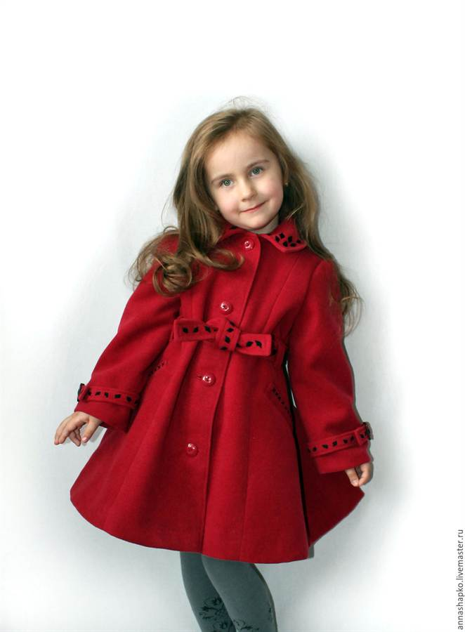 1-292 Как сшить пальто для девочки своими руками