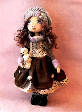 1-3042 Кукла Мастер-класс Шитьё Утяжки на кукольном теле МК Капрон. Утяжка лица куклы из капроновых колготок