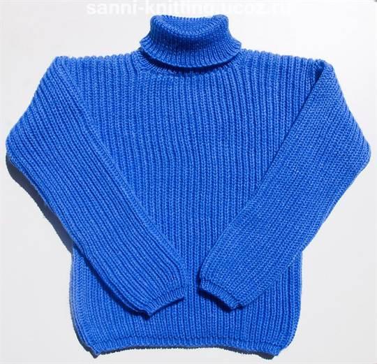 свитер английской резинкой спицами со схемами и видео