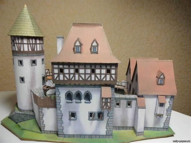 Замок своими руками схемы для детей фото 945