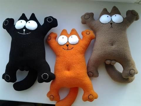 Сшить игрушку кота своими руками фото 206
