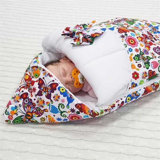 вязаный конверт на выписку для новорожденных спицами с фото и видео