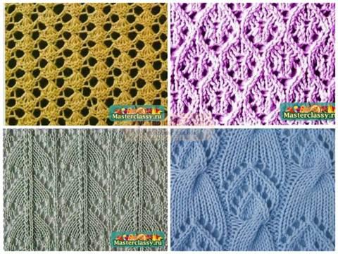 ажурное вязание спицами кофточки для женщин с описанием для начинающих