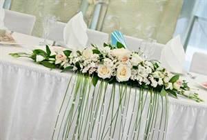 Свадебные скатерти на стол своими руками 425