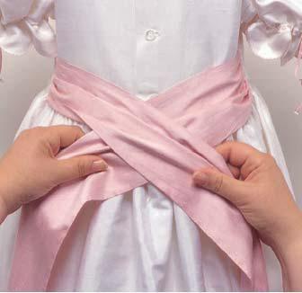 Как сделать бант на платье фото 606