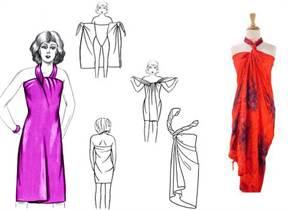 f19ceba027b Платье из платка своими руками для девочки с фото и видео