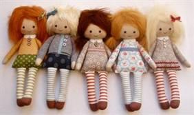 Поделки своими руками куклы из ткани фото 698