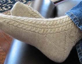 мужские носки спицами схемы носочков на 42 размер и выше как