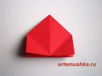 Оригами роза схема на русском фото 65
