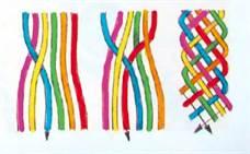 13-239 Как сделать браслет из ниток своими руками