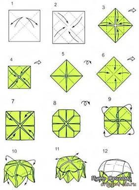 Оригами лотос: как сделать из бумаги и из модулей с фото и видео.