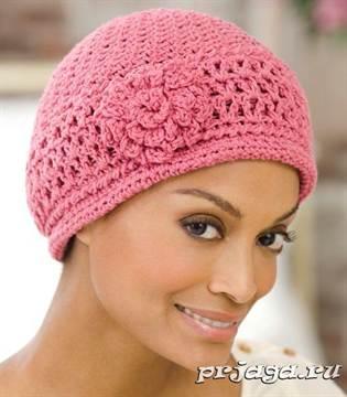 вязаные шапки крючком для женщин схема зимнего и осеннего головного