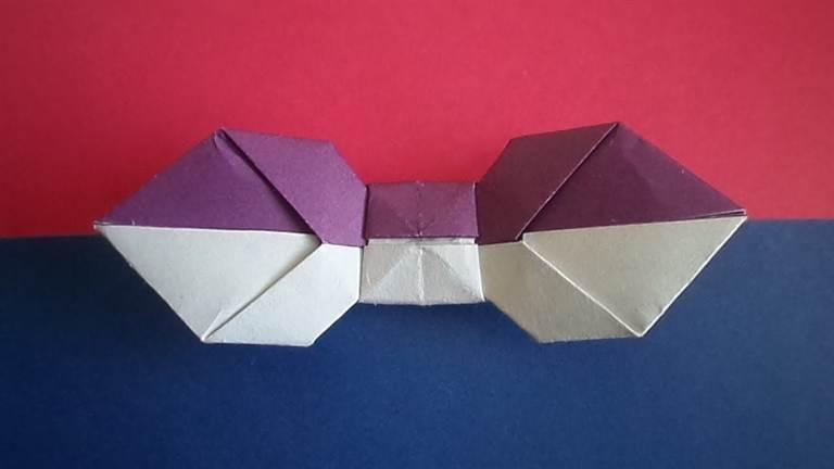 Оригами из бумаги бабочка схема для начинающих фото 298