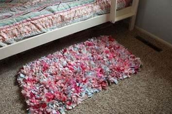 Коврики из лоскутков ткани своими руками видео фото 858