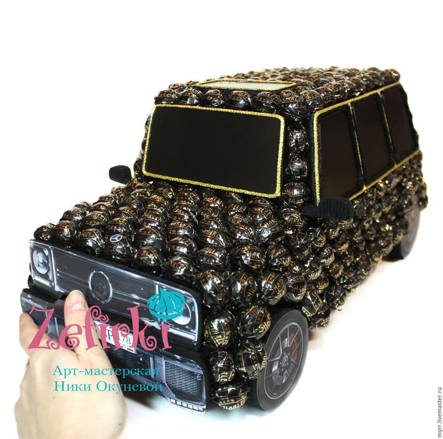 Тойота из конфет своими руками фото 513