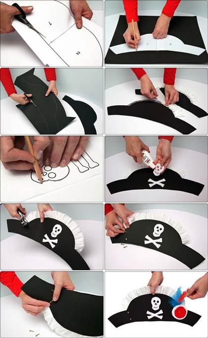 Как сделать шляпу пирата фото 151