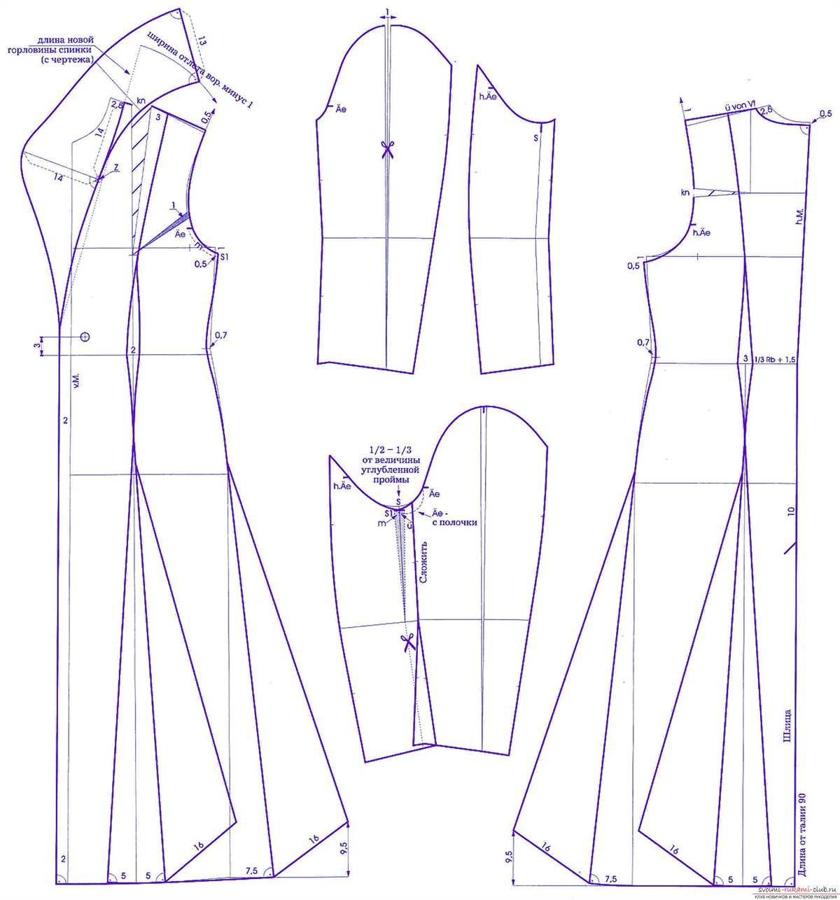 Приталенное пальто женское выкройка фото 868