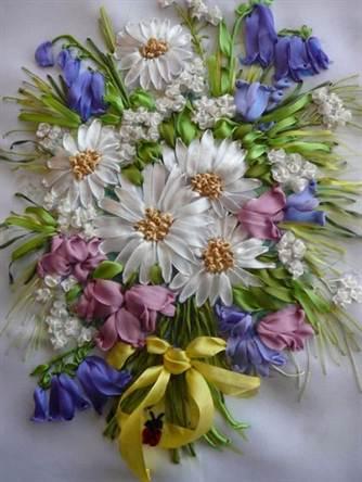 Подготовка к рукоделию. Создать цветочный луг своими руками ... 3a32311017bba