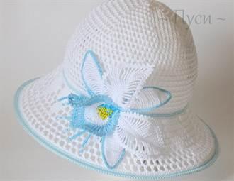 летние шляпы для женщин крючком описание со схемами и видео