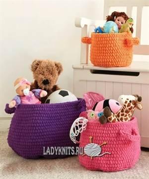 ac402d7f18d7 Корзина для игрушек своими руками станет решением проблемы. Чтобы ребенок с  удовольствием наводил порядок, можно изготовить ее вместе с ним.