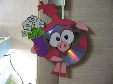 Смешарики из дисков