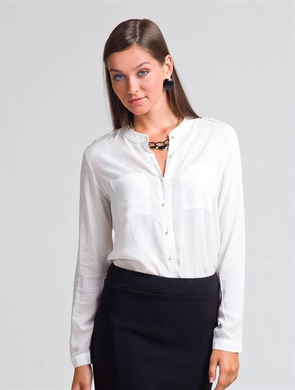Блузка с цельнокроеным рукавом выкройка