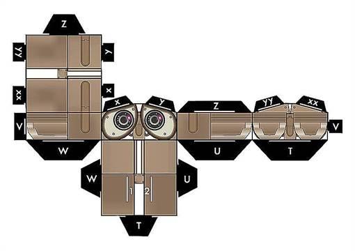 Робот из бумаги своими руками фото 452