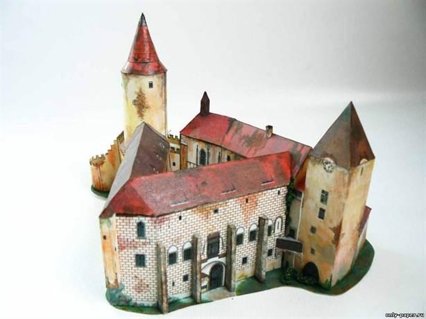 Как сделать объемный замок из бумаги фото 591