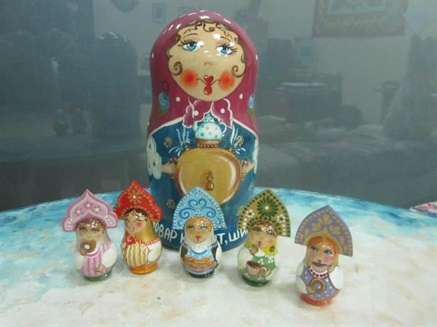 Матрешки на заказ, сувениры и подарки ручной работы к любому празднику