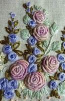 вышивка по вязаному полотну для начинающих с фото и видео