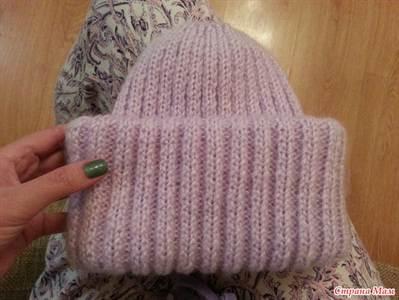 шапка такори схема вязания английской резинкой с фото и видео
