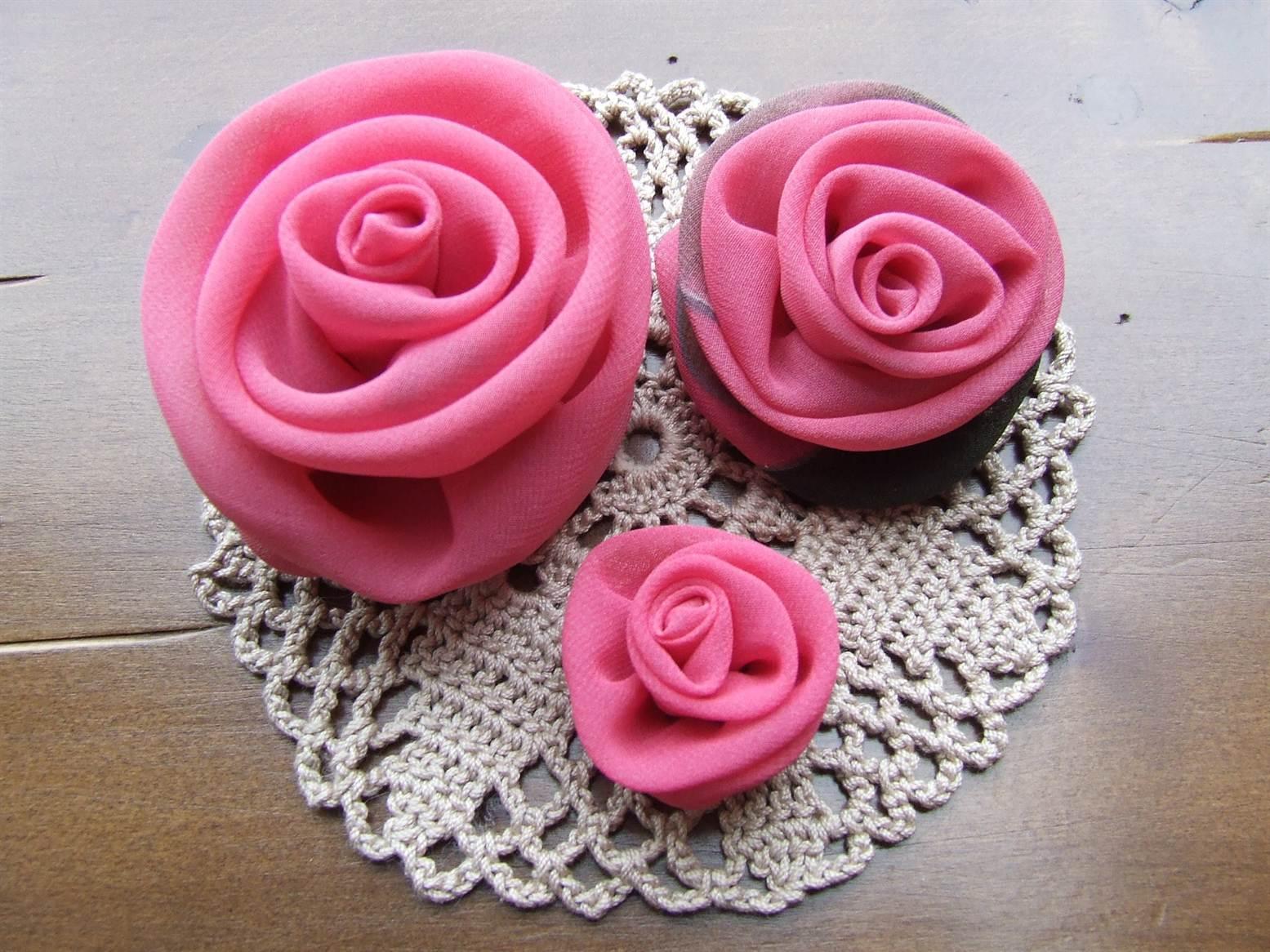 Сделать своими руками цветы розы фото 507