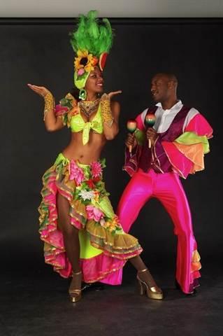 Бразильский карнавал мужской костюм