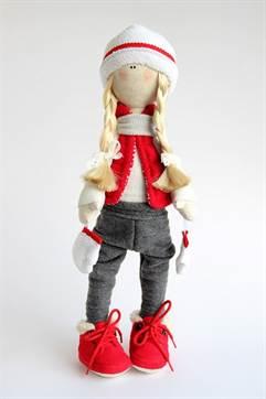 Кукла снежка мастер класс своими руками 509