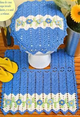 коврик для ванной крючком схема с описанием вязания совы