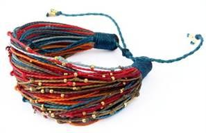 4-282 Как сделать браслет из ниток своими руками