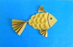 4-3122 Золотая рыбка своими руками: мастер класс с фото