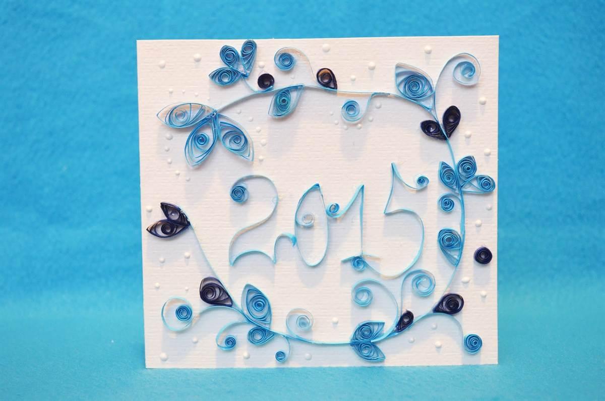 Айрис, квиллинг открытки ребенку год