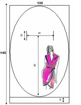 9f95f031f63 Выкройка платья с запахом  халат для полных бесплатно с фото и видео