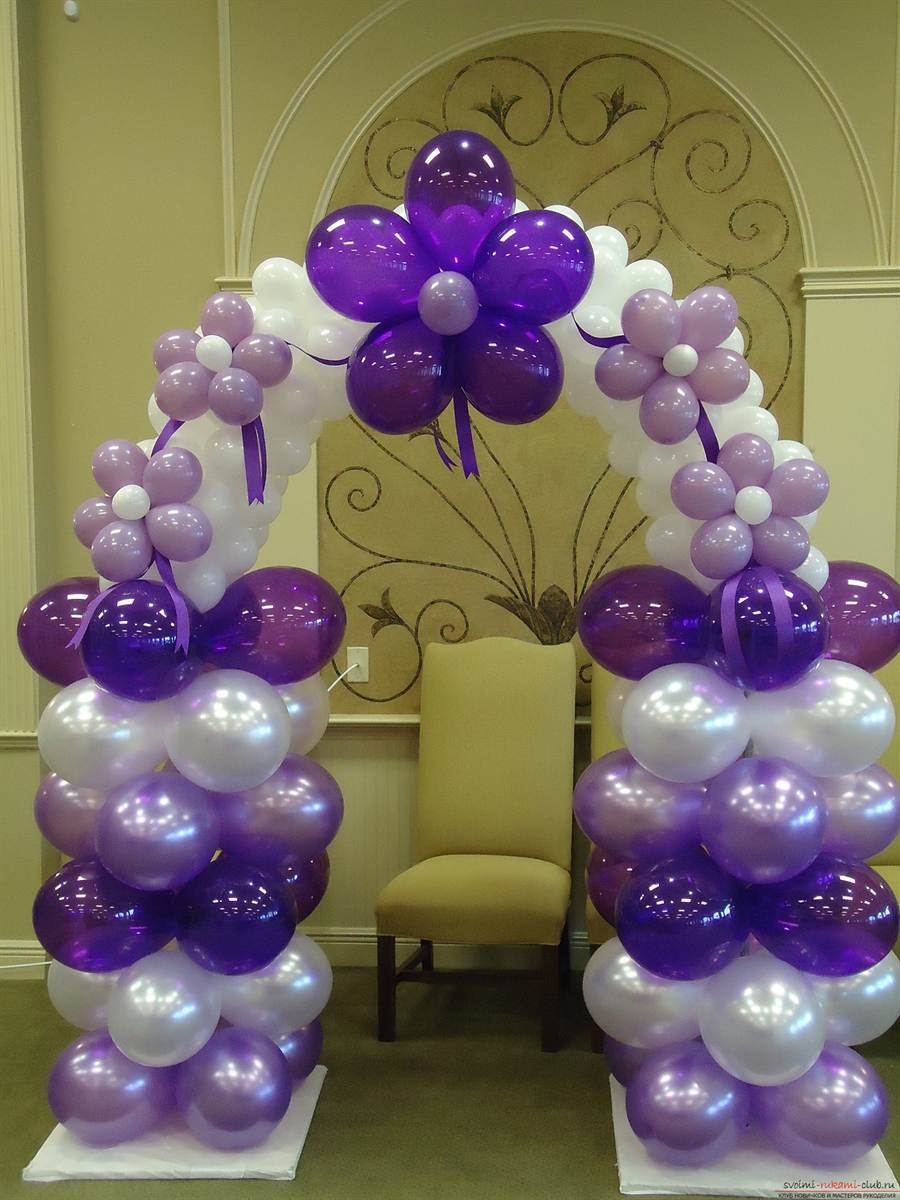 Арка с шарами своими руками фото 456