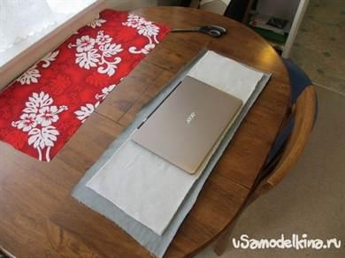 67cc17914274 Сумка для ноутбука своими руками из старых джинсов с фото